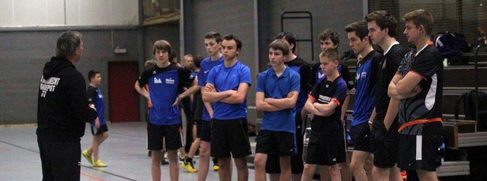A-training voor de competitiegroep
