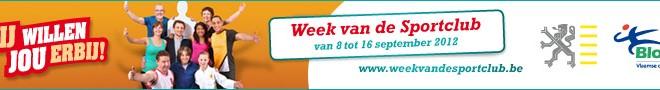 Bloso – Week van de sportclub 2012