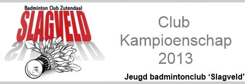 Club Kampioenschap 2013